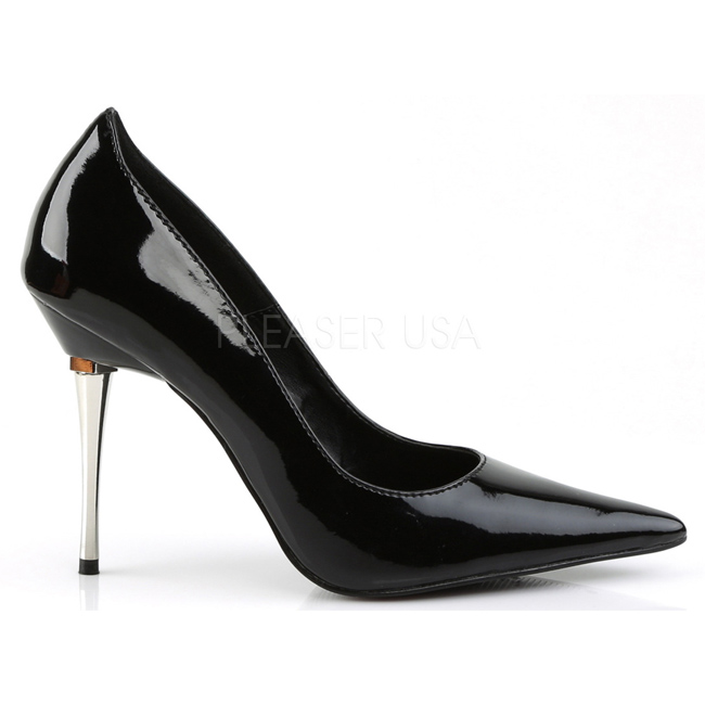 pleaser APPEAL-20 lakleer pumps met metalen hak maat 38 - 39